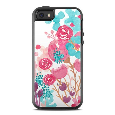 OtterBox Symmetry iPhone SE Case Skin - Blush Blossoms