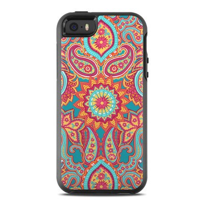 OtterBox Symmetry iPhone SE Case Skin - Carnival Paisley
