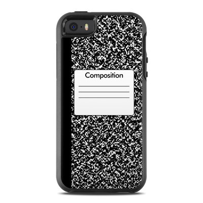 OtterBox Symmetry iPhone SE Case Skin - Composition Notebook