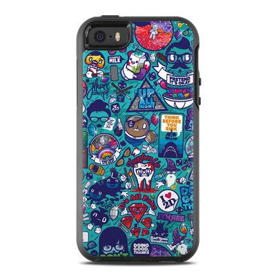 OtterBox Symmetry iPhone SE Case Skin - Cosmic Ray