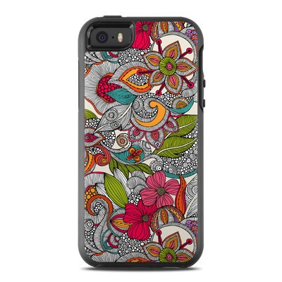 OtterBox Symmetry iPhone SE Case Skin - Doodles Color