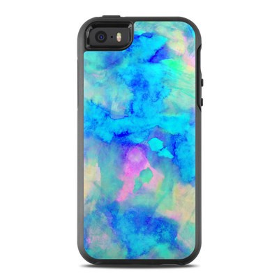 OtterBox Symmetry iPhone SE Case Skin - Electrify Ice Blue