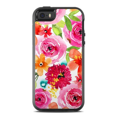 OtterBox Symmetry iPhone SE Case Skin - Floral Pop
