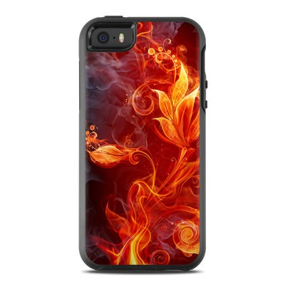 OtterBox Symmetry iPhone SE Case Skin - Flower Of Fire