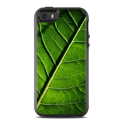 OtterBox Symmetry iPhone SE Case Skin - Green Leaf