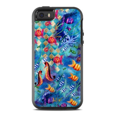 OtterBox Symmetry iPhone SE Case Skin - Harlequin Seascape