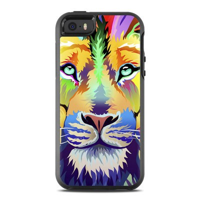 OtterBox Symmetry iPhone SE Case Skin - King of Technicolor
