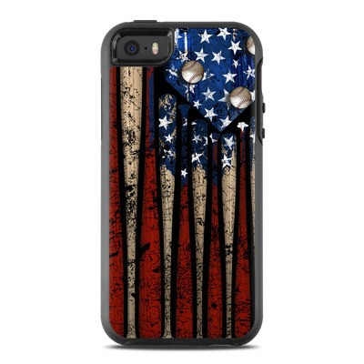 OtterBox Symmetry iPhone SE Case Skin - Old Glory