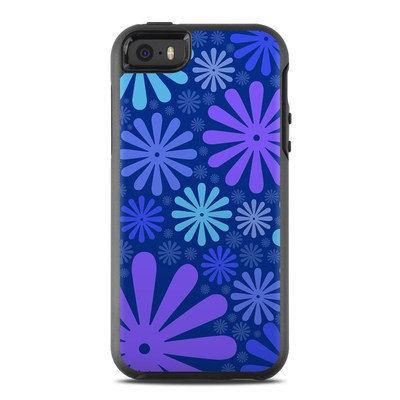 OtterBox Symmetry iPhone SE Case Skin - Indigo Punch