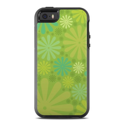 OtterBox Symmetry iPhone SE Case Skin - Lime Punch
