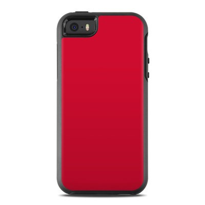 OtterBox Symmetry iPhone SE Case Skin - Solid State Red