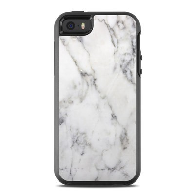 OtterBox Symmetry iPhone SE Case Skin - White Marble