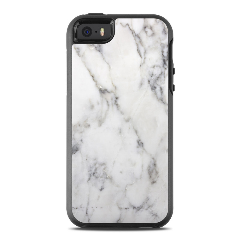 Otterbox Symmetry Iphone Se Case Skin White Marble By