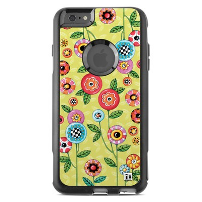 OtterBox Commuter iPhone 6 Plus Case Skin - Button Flowers