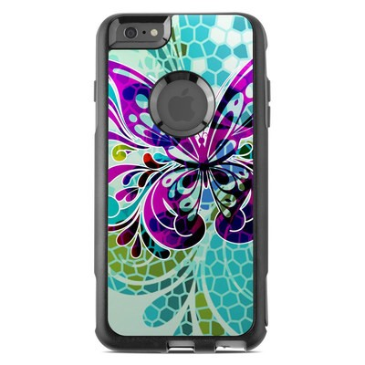 OtterBox Commuter iPhone 6 Plus Case Skin - Butterfly Glass