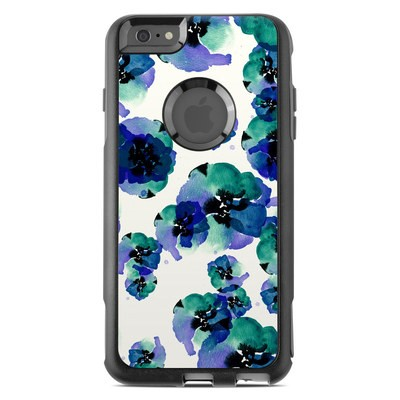 OtterBox Commuter iPhone 6 Plus Case Skin - Blue Eye Flowers