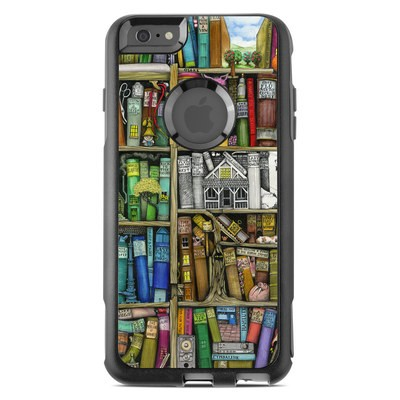 OtterBox Commuter iPhone 6 Plus Case Skin - Bookshelf