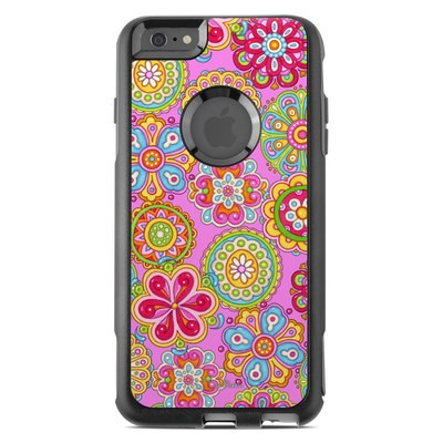 OtterBox Commuter iPhone 6 Plus Case Skin - Bright Flowers