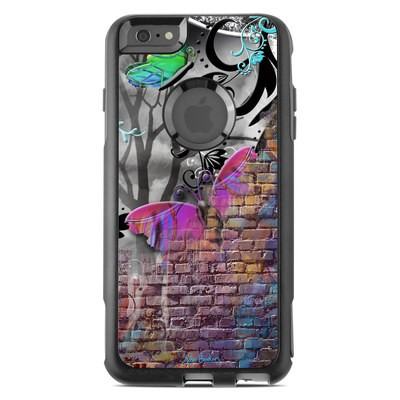 OtterBox Commuter iPhone 6 Plus Case Skin - Butterfly Wall