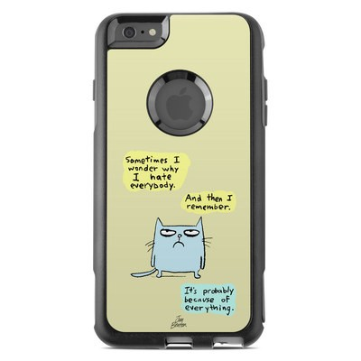 OtterBox Commuter iPhone 6 Plus Case Skin - Catwad Hate