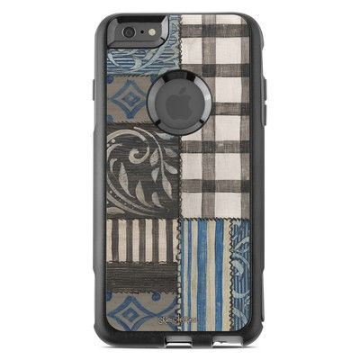 OtterBox Commuter iPhone 6 Plus Case Skin - Country Chic Blue