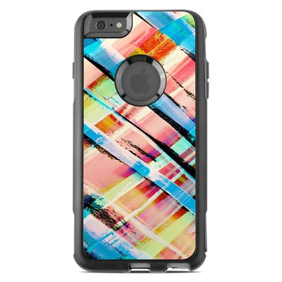 OtterBox Commuter iPhone 6 Plus Case Skin - Check Stripe