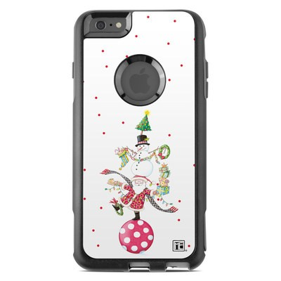 OtterBox Commuter iPhone 6 Plus Case Skin - Christmas Circus