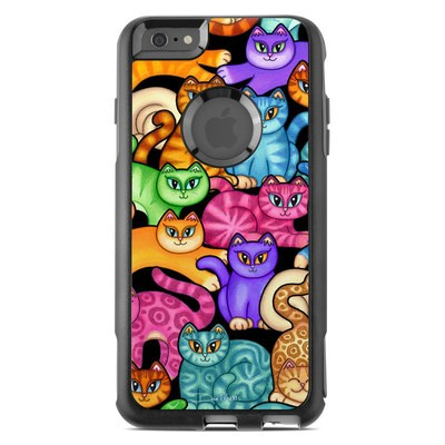 OtterBox Commuter iPhone 6 Plus Case Skin - Colorful Kittens