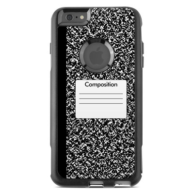 OtterBox Commuter iPhone 6 Plus Case Skin - Composition Notebook
