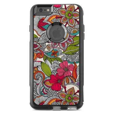 OtterBox Commuter iPhone 6 Plus Case Skin - Doodles Color