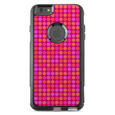 OtterBox Commuter iPhone 6 Plus Case Skin - Dots Pink