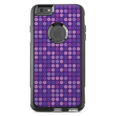 OtterBox Commuter iPhone 6 Plus Case Skin - Dots Purple