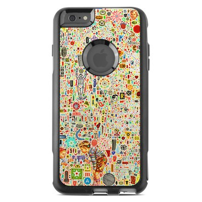 OtterBox Commuter iPhone 6 Plus Case Skin - Effloresce