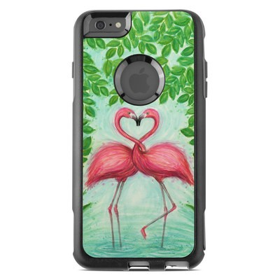 OtterBox Commuter iPhone 6 Plus Case Skin - Flamingo Love