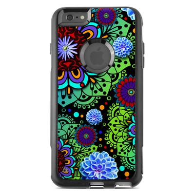 OtterBox Commuter iPhone 6 Plus Case Skin - Funky Floratopia