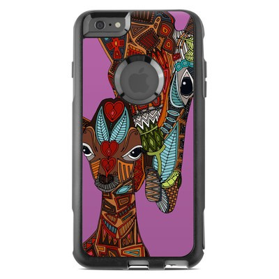 OtterBox Commuter iPhone 6 Plus Case Skin - Giraffe Love