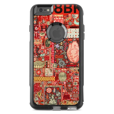 OtterBox Commuter iPhone 6 Plus Case Skin - Heart and Teeth
