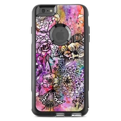 OtterBox Commuter iPhone 6 Plus Case Skin - Hot House Flowers