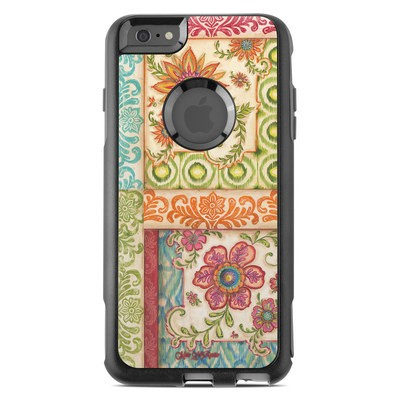 OtterBox Commuter iPhone 6 Plus Case Skin - Ikat Floral