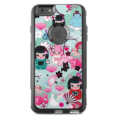 OtterBox Commuter iPhone 6 Plus Case Skin - Kimono Cuties