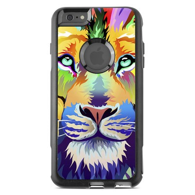 OtterBox Commuter iPhone 6 Plus Case Skin - King of Technicolor