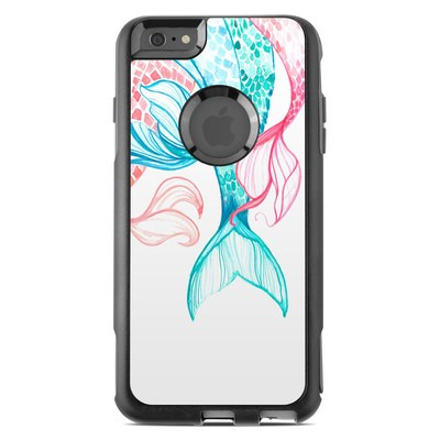 OtterBox Commuter iPhone 6 Plus Case Skin - Mermaid Tails