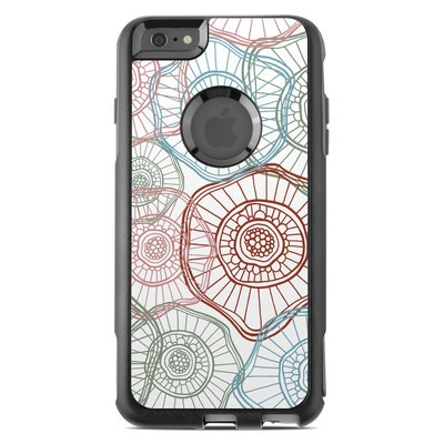 OtterBox Commuter iPhone 6 Plus Case Skin - Micro Flowers