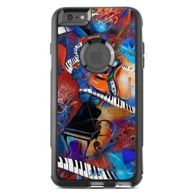 OtterBox Commuter iPhone 6 Plus Case Skin - Music Madness