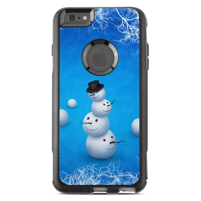 OtterBox Commuter iPhone 6 Plus Case Skin - Merry Snowman