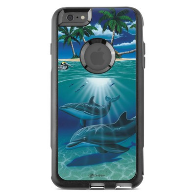 OtterBox Commuter iPhone 6 Plus Case Skin - Ocean Serenity