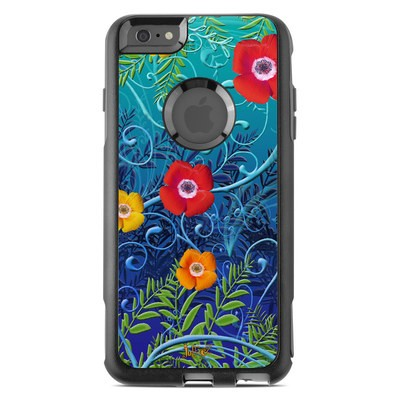 OtterBox Commuter iPhone 6 Plus Case Skin - Poppies