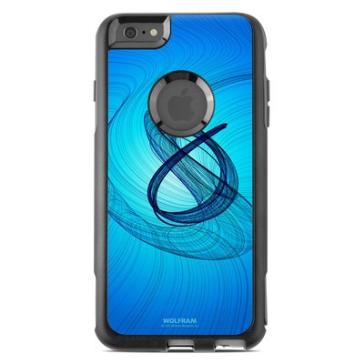 OtterBox Commuter iPhone 6 Plus Case Skin - Rotating Swirls