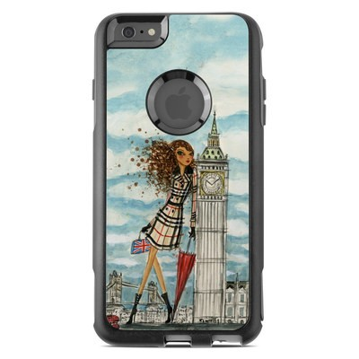 OtterBox Commuter iPhone 6 Plus Case Skin - The Sights London