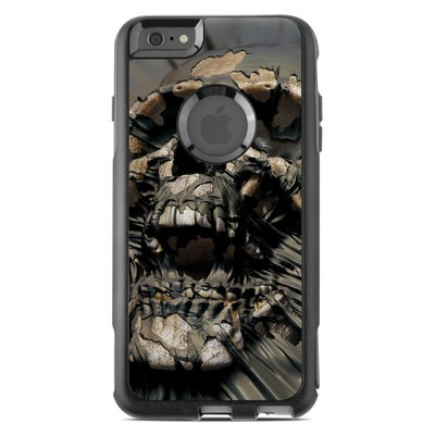 OtterBox Commuter iPhone 6 Plus Case Skin - Skull Wrap